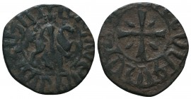 Armenia, Hetoum I AE AD 1226-1270.  Condition: Very Fine  Weight: 3.70 gr Diameter: 24 mm