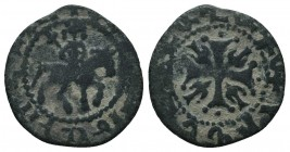 Cilician Armenia, Smpad (1296-1298) AE  Condition: Very Fine  Weight: 1.20 gr Diameter: 17 mm