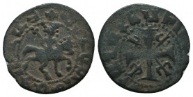 Cilician Armenia, Smpad (1296-1298) AE  Condition: Very Fine  Weight: 2.00 gr Diameter: 18 mm