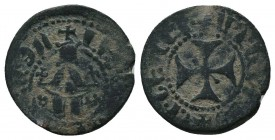 Levon IV AE Pogh Cilician Armenia Sis   Condition: Very Fine  Weight: 1.50 gr Diameter: 16 mm