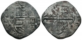 Medieval Europe, Mexico, Spanish Empire. Philip IV AR  Condition: Very Fine  Weight: 10.20 gr Diameter: 30 mm