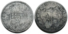 Medieval Europe, SPAIN. Philip V (First reign, 1700-1721).   Condition: Very Fine  Weight: 5.50 gr Diameter: 27 mm