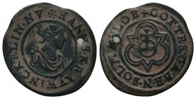 Medieval Europe, Coin or Token,  Condition: Very Fine  Weight: 1.90 gr Diameter: 21 mm