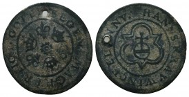 Medieval Europe, Coin or Token,  Condition: Very Fine  Weight: 1.20 gr Diameter: 23 mm