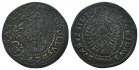Medieval Europe, Leopold . 1657-1705. Ae  Condition: Very Fine  Weight: 1.20 gr Diameter: 22 mm