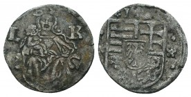 Medieval Europe, Unidentified Ar, Silver Coin,  Condition: Very Fine  Weight: 0.60 gr Diameter: 14 mm