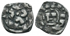 Crusaders , Italy Lucca,  Condition: Very Fine  Weight: 0.90 gr Diameter: 16 mm
