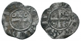 Crusaders , Silver Denier,  Condition: Very Fine  Weight: 0.30 gr Diameter: 13 mm