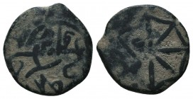 Islamic Coins Ae,  Condition: Very Fine  Weight: 2.70 gr Diameter: 16 mm