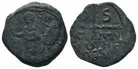 Crusades, Syria. Antioch. Tancred, Regent, 1104-1112. AE Follis