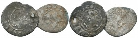 Crusaders, Armenia, AR Silver Lot of 2 . AD 11th -12th Century