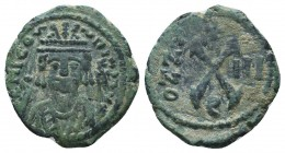 Maurice Tiberius. A.D. 582-602. AE 