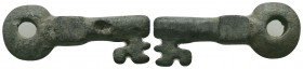 Medieval/Crusades Europe, c. 9th-14th century AD. Bronze Key