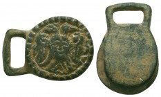 Medieval/Crusades Europe, c. 9th-14th century AD. Interesting Soldier Belt Buckle!