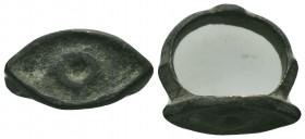Byzantine Empire, c. 8th-12th century. Bronze ring 