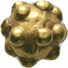 Ancient Roman Gold Pendant Bead, 1st - 2nd Century AD.