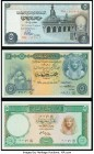 Egypt Group Lot of 6 Examples Crisp Uncirculated.   HID09801242017  © 2020 Heritage Auctions | All Rights Reserve