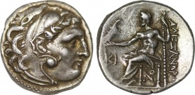 KINGS OF MACEDON. Antigonos I Monophthalmos. As Strategos of Asia (Circa 320-306/5 BC). Dachm.  In the name and types of Alexander III. Lampsakos mint...