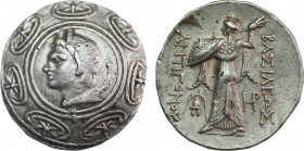KINGS OF MACEDON. Antigonos II Gonatas (Circa 270-240 BC). Tetradrachm. Amphipolis.