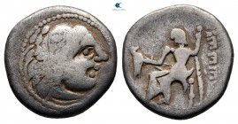 Eastern Europe. Imitation of Philip III of Macedon circa 300 BC. Drachm AR