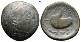 Eastern Europe. Imitation of Philip II of Macedon circa 200-100 BC. Tetradrachm AR