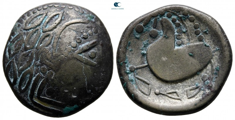 Eastern Europe. Imitation of Philip II of Macedon circa 200-100 BC. 