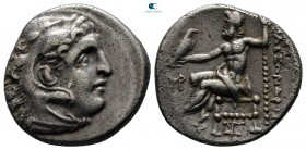 "Kings of Macedon. Abydos. Alexander III ""the Great"" 336-323 BC. Struck circa 310-301 BC. Drachm AR"