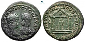Moesia Inferior. Marcianopolis. Caracalla and Julia Domna AD 198-217. Bronze Æ