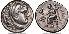MACEDONIAN KINGDOM. Alexander III the Great (336-323 BC). AR tetradrachm (26mm, 6h). NGC Choice VF. Lifetime issue of 'Amphipolis', ca. 336-323 BC. He...