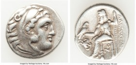 MACEDONIAN KINGDOM. Alexander III the Great (336-323 BC). AR drachm (17mm, 4.22 gm, 4h). Choice Fine. Posthumous issue of Lampsacus, ca. 320-305 BC. H...