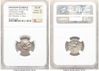 THRACIAN KINGDOM. Lysimachus (305-281 BC). AR drachm (18mm, 4.40 gm, 12h). NGC Choice VF 5/5 - 5/5. Posthumous issue of Colophon, under Lysimachus of ...