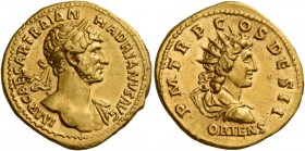 Hadrian augustus, 117 – 138 