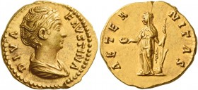 Diva Faustina I, wife of Antoninus Pius 