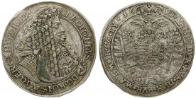 Austria Hungary 1 Thaler 1690 KB Kremnitz mint. Leopold I (1657-1705). Dated 1690. Averse: LEOPOLDVS (Madonna and child) • D G • RO • I • S • AVG • GE...