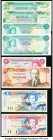 World (Bahamas, Belize, Bermuda, Eastern Caribbean) Group Lot of 8 Examples Crisp Uncirculated.   HID09801242017  © 2020 Heritage Auctions | All Right...