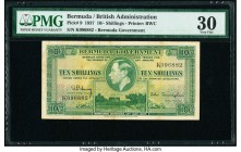 Bermuda Bermuda Government 10 Shillings 12.5.1937 Pick 9 PMG Very Fine 30.   HID09801242017  © 2020 Heritage Auctions | All Rights Reserve