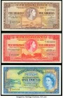 Bermuda Bermuda Government 5; 10 Shillings; 1 Pound 1957-66 Pick 18; 19; 20 Very Fine-Extremely Fine.   HID09801242017  © 2020 Heritage Auctions | All...