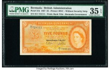 Bermuda Bermuda Government 5 Pounds 1.5.1957 Pick 21b PMG Choice Very Fine 35 EPQ.   HID09801242017  © 2020 Heritage Auctions | All Rights Reserve