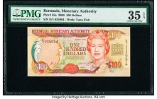 Bermuda Monetary Authority 100 Dollars 2000 Pick 55a PMG Choice Very Fine 35 EPQ.   HID09801242017  © 2020 Heritage Auctions | All Rights Reserve