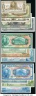 Bolivia Group lot of 45 Examples Very Fine-Crisp Uncirculated. Pinholes are seen on the 1000 Bolivianos example. The majority of this lot is Crisp Unc...