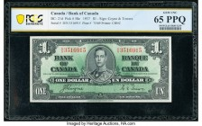 Canada Bank of Canada $1 2.1.1937 Pick 58e BC-21d PCGS Banknote Gem UNC 65PPQ.   HID09801242017  © 2020 Heritage Auctions | All Rights Reserve