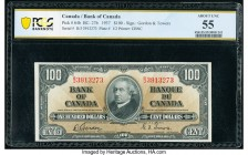 Canada Bank of Canada $100 2.1.1937 Pick 64b BC-27b PCGS Banknote About UNC 55.   HID09801242017  © 2020 Heritage Auctions | All Rights Reserve
