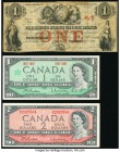 Canada Group Lot of 3 Examples Fine-Crisp Uncirculated.   HID09801242017  © 2020 Heritage Auctions | All Rights Reserve