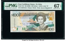 East Caribbean States Central Bank, St. Kitts 100 Dollars ND (2000) Pick 41k PMG Superb Gem Unc 67 EPQ.   HID09801242017  © 2020 Heritage Auctions | A...