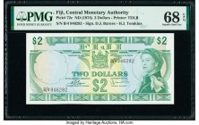 Fiji Central Monetary Authority 2 Dollars ND (1974) Pick 72c PMG Superb Gem Unc 68 EPQ.   HID09801242017  © 2020 Heritage Auctions | All Rights Reserv...