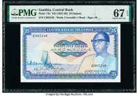 Gambia Central Bank of the Gambia 25 Dalasis ND (1987-90) Pick 11b PMG Superb Gem Unc 67 EPQ.   HID09801242017  © 2020 Heritage Auctions | All Rights ...