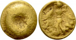 "CENTRAL EUROPE. Boii. GOLD 1/24 Stater (2nd-1st centuries BC). ""Athena Alkis"" type"
