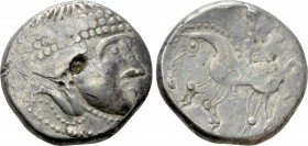 "EASTERN EUROPE. Imitations of Philip II of Macedon (2nd-1st centuries BC). Tetradrachm. ""Velemer"" type"