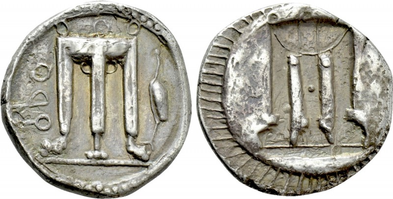 BRUTTIUM. Kroton. Nomos (Circa 480-430 BC). 