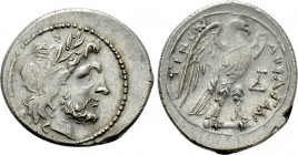 SICILY. Akragas. Drachm or Half-Shekel. Punic occupation (Circa 214-210 BC)
